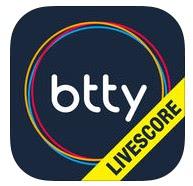 Btty Livescore App Logo