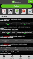 Beispielfoto für die mobile App von Lsbet.com