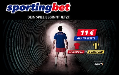 Liverpool Dortmund Gratis Wette 11 Euro Sportingbet