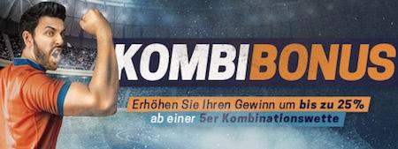 Rivalo Kombiwetten Bonus Promotion