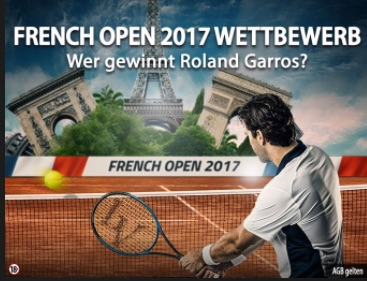 LVbet Gewinnspiel zu den French Open 2017