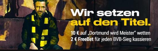 2€ Gratiswette für jeden BVB Sieg