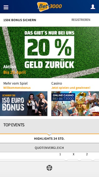 Bet3000 App Android Download