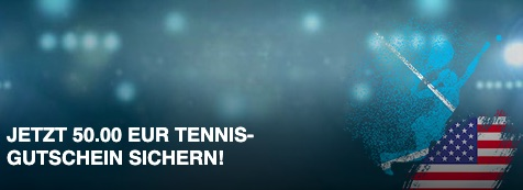 US Open Bet-at-home Tennis-Guthaben