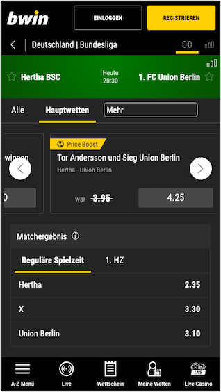 Bet And Win Ergebnisse