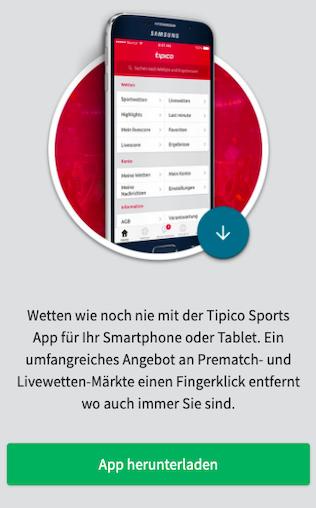 Alles zum Tipico App Download + Anleitung zum Herunterladen