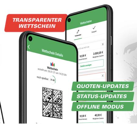 Alle Plattformen der ODDSET App für Android & iPhone